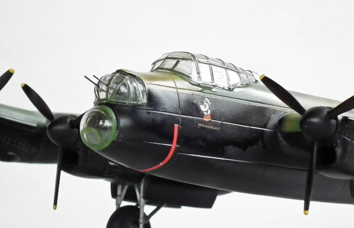 1/96 英 アブロ・ランカスター B1重爆撃機 106戦隊長機 完成品_画像2