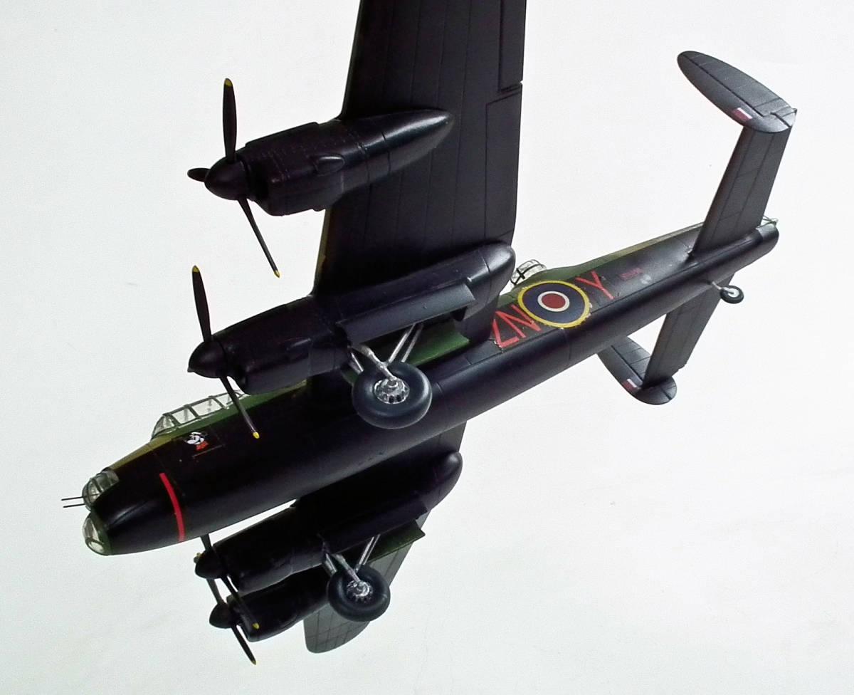 1/96 英 アブロ・ランカスター B1重爆撃機 106戦隊長機 完成品_画像6