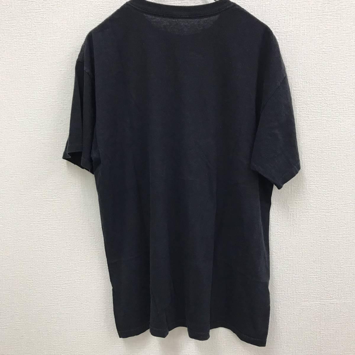 レッドツェッペリン 半袖 Tシャツ レッド LED ZEPPELIN 黒