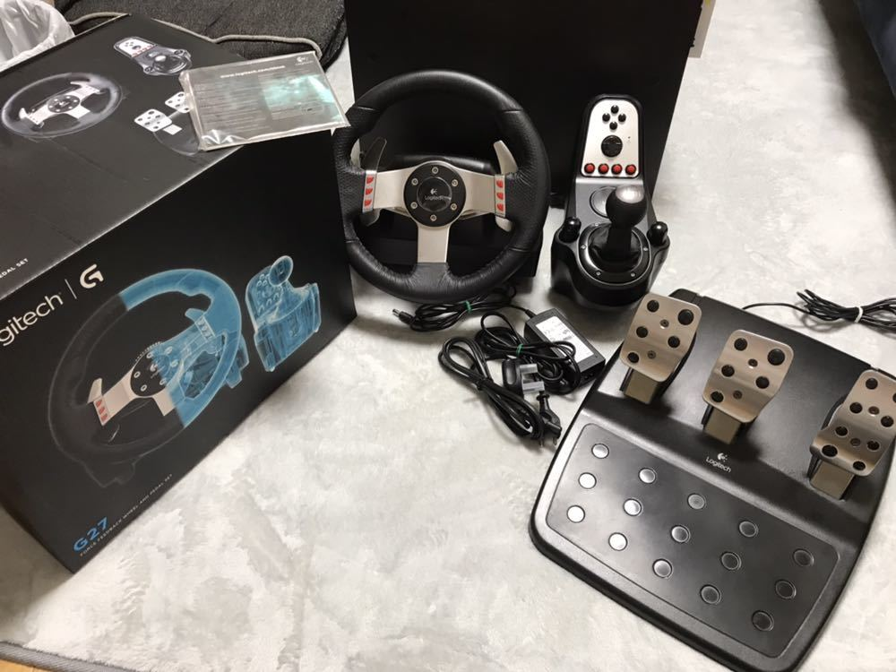Used PS3 Logitech click logitech racing controller G27 Logitech Gran Turismo Logitech Driving handle PlayStation 3 and PC