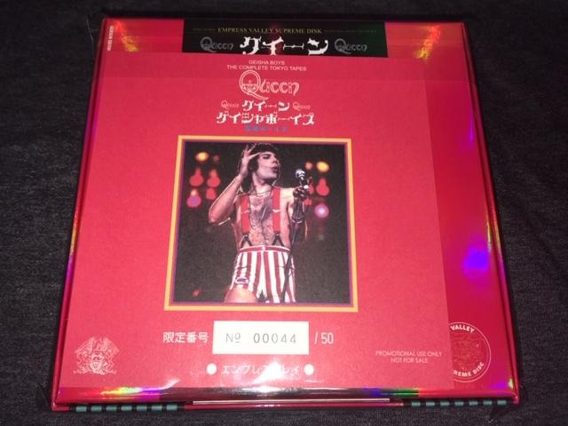Empress Valley ★ Queen - ようこそ背徳の帝都の夜へ/ゲイシャボーイズ「Geisha Boys」Aタイプ/8CD+1CDボックス_画像4