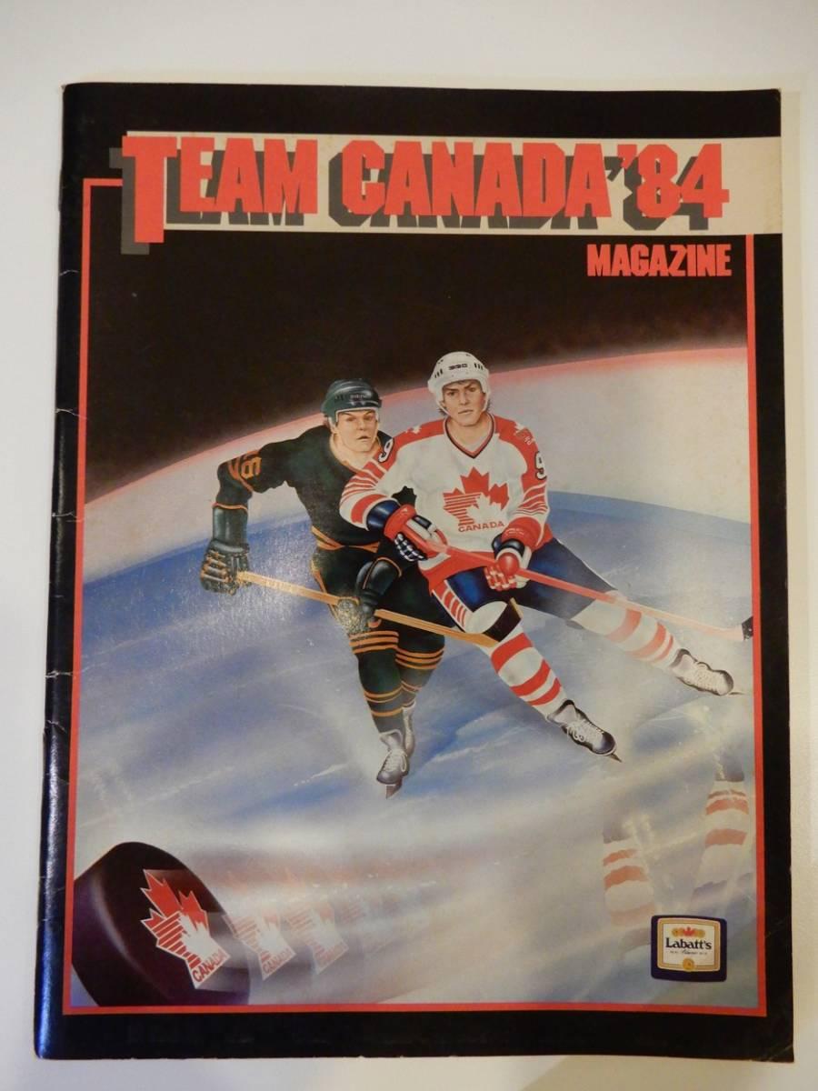 ▲▲アイスホッケー「Team Canada '84」カナダ、オリンピック、英語、洋書_画像1