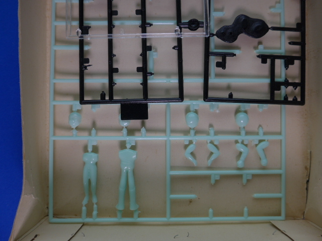 イマイ 今井科学 宇宙科学シリーズNo.4 スーパージェッター 電動 流星号 箱と人形と説明書のみ_画像3