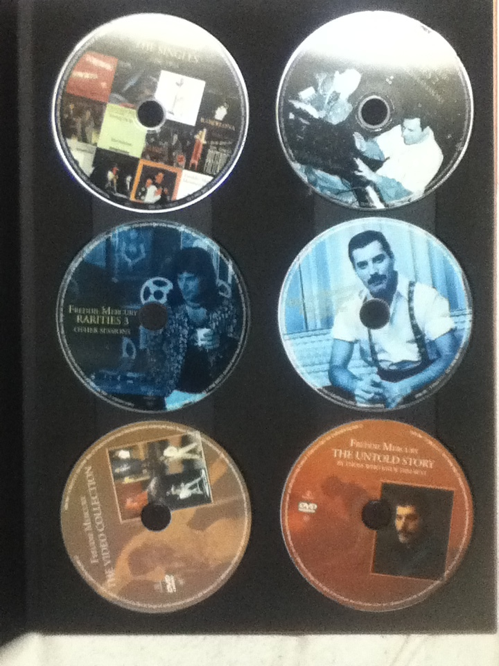 貴重 特価!クイーン QUEEN フレディ・マーキュリー ソロ コレクション 10CD+2DVD ボヘミアン・ラプソディ_画像6