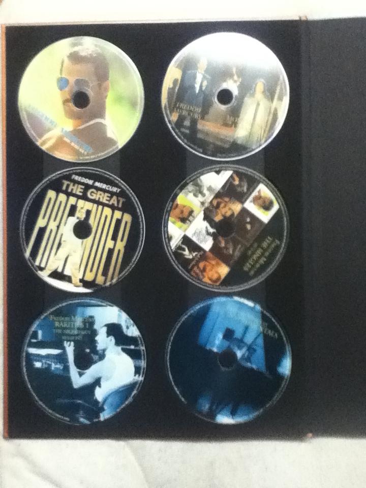 貴重 特価!クイーン QUEEN フレディ・マーキュリー ソロ コレクション 10CD+2DVD ボヘミアン・ラプソディ_画像3