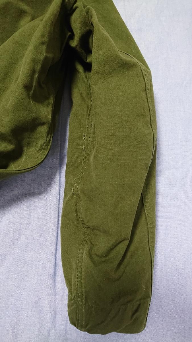50~60'sビンテージ フランス軍ステンカラーコート タイロッケンコート アナトミカ好きな方に _画像6