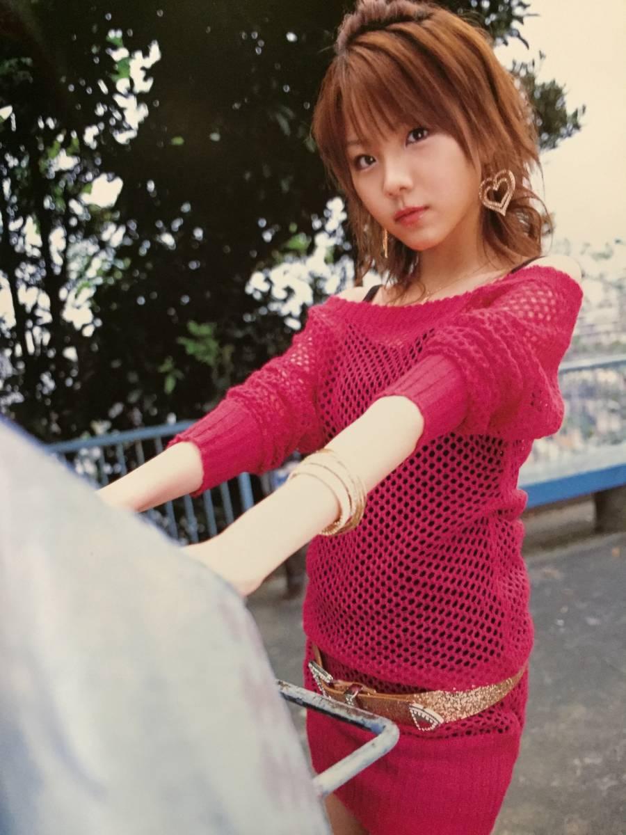 古本 帯なし 写真集 れいな 田中れいな DVD付き 撮影:矢西誠二 モーニング娘。 ハロプロ 水着 送料¥188~_画像5