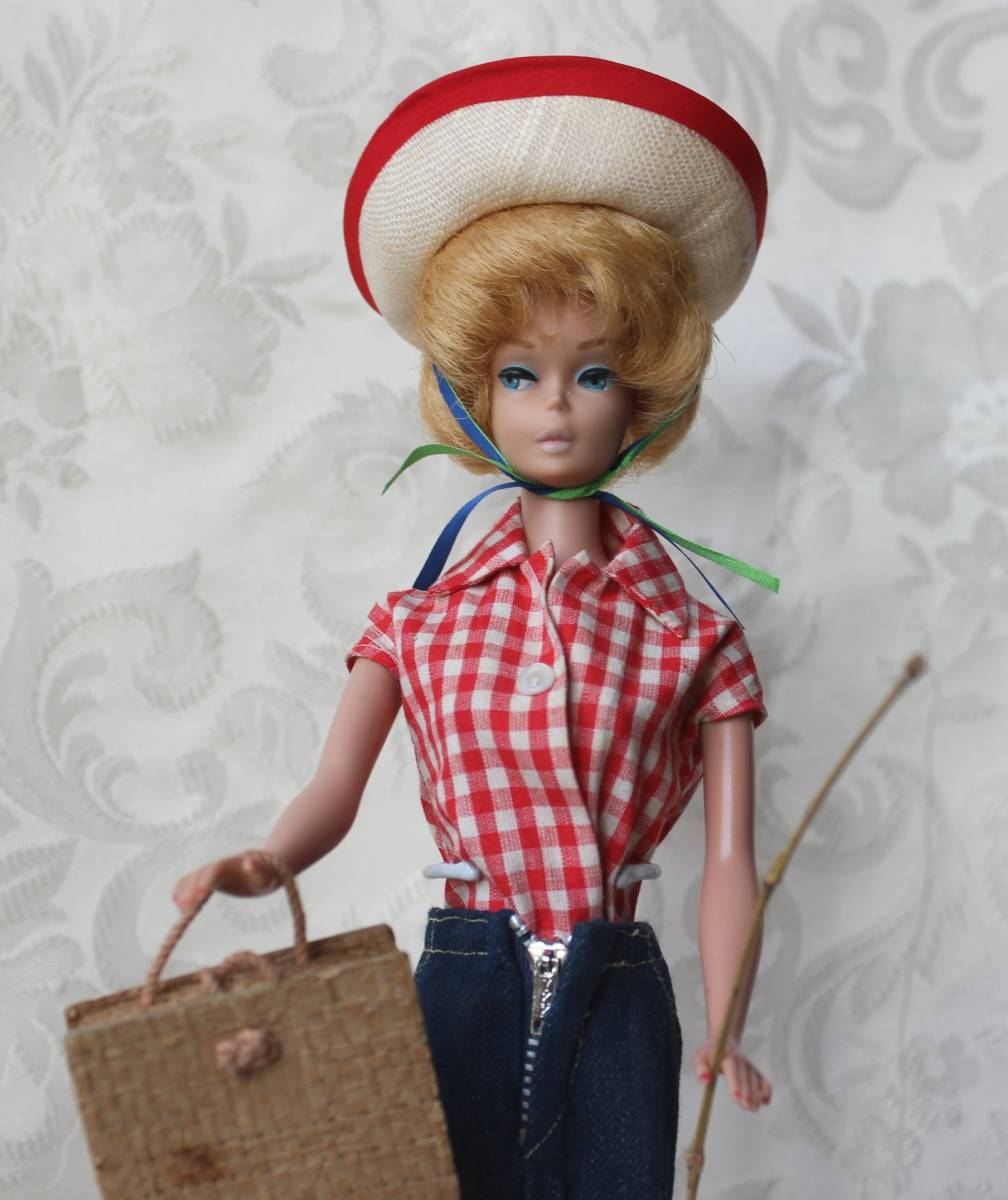Barbie バービー ヴィンテージ Vintage BARBIE Outfit Picnic Set Fashion Complete(すべて揃っています。)