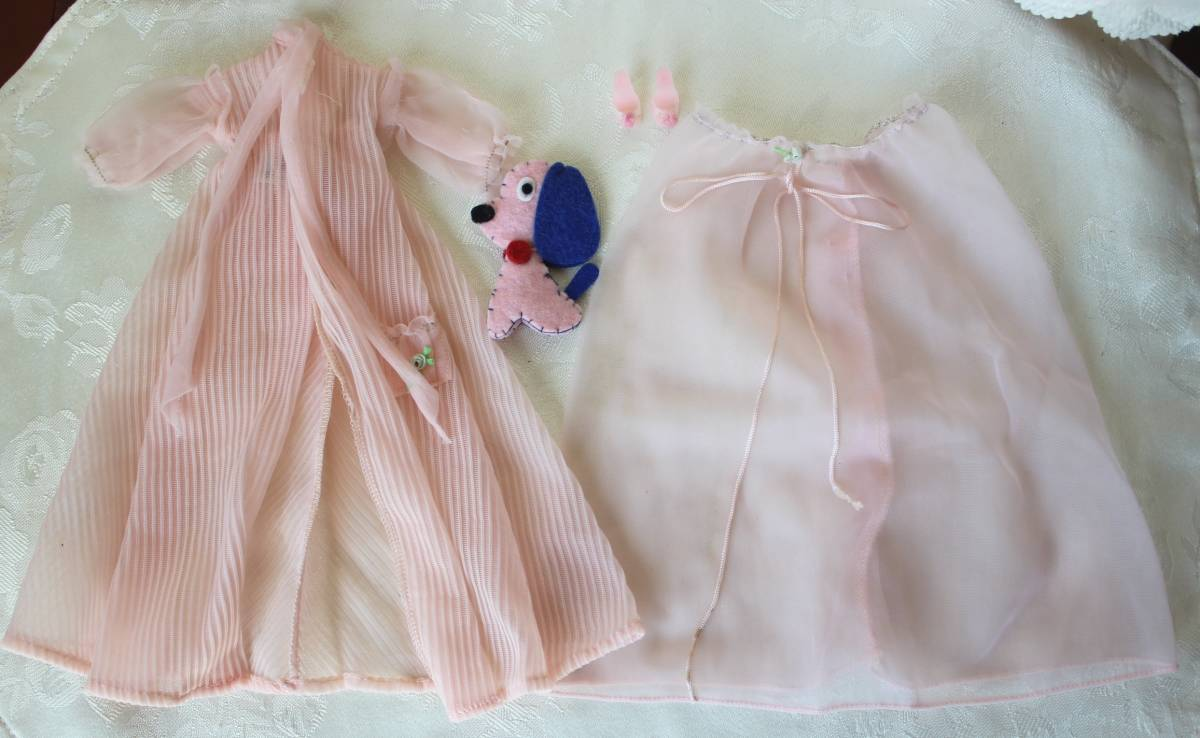 Barbie バービー ヴィンテージ Vintage BARBIE Outfit:Nighty Negligee Outfit 1959-61 #965(すべて揃っています。)