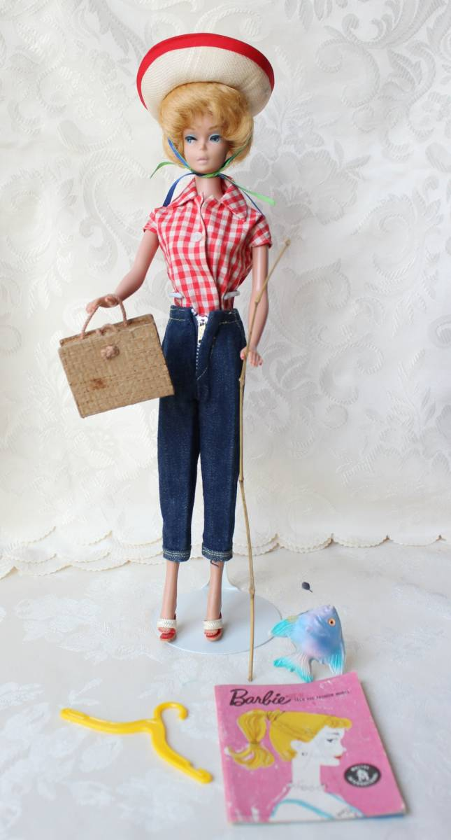 Barbie バービー ヴィンテージ Vintage BARBIE Outfit Picnic Set Fashion Complete(すべて揃っています。)_画像3