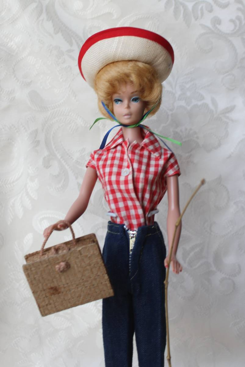 Barbie バービー ヴィンテージ Vintage BARBIE Outfit Picnic Set Fashion Complete(すべて揃っています。)_画像2