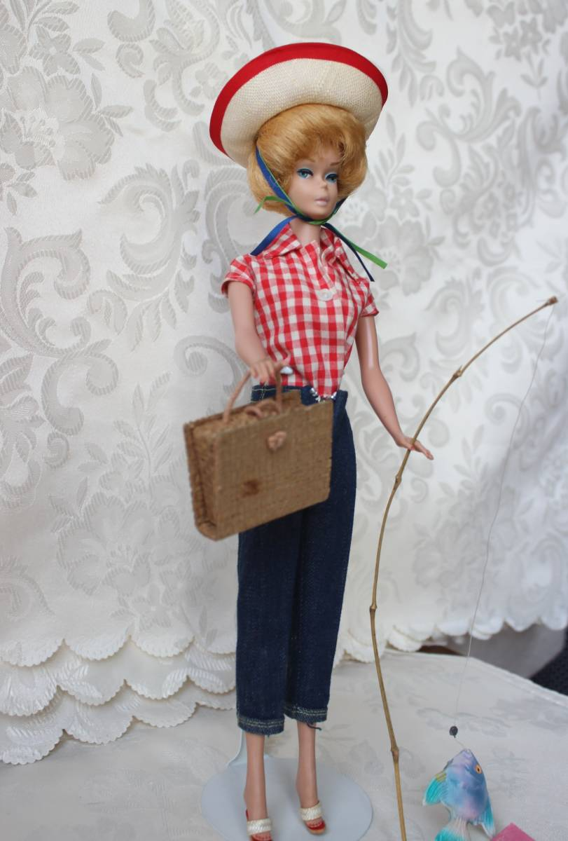 Barbie バービー ヴィンテージ Vintage BARBIE Outfit Picnic Set Fashion Complete(すべて揃っています。)_画像4