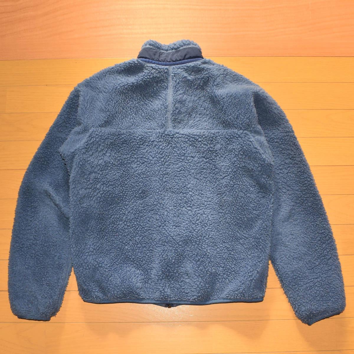 レア!送料無料!99年 USA製 パタゴニア メンズS 日本M フリース ボアパイル レトロX ジャケット レトロカーディガン 古着 ビンテージ_画像5