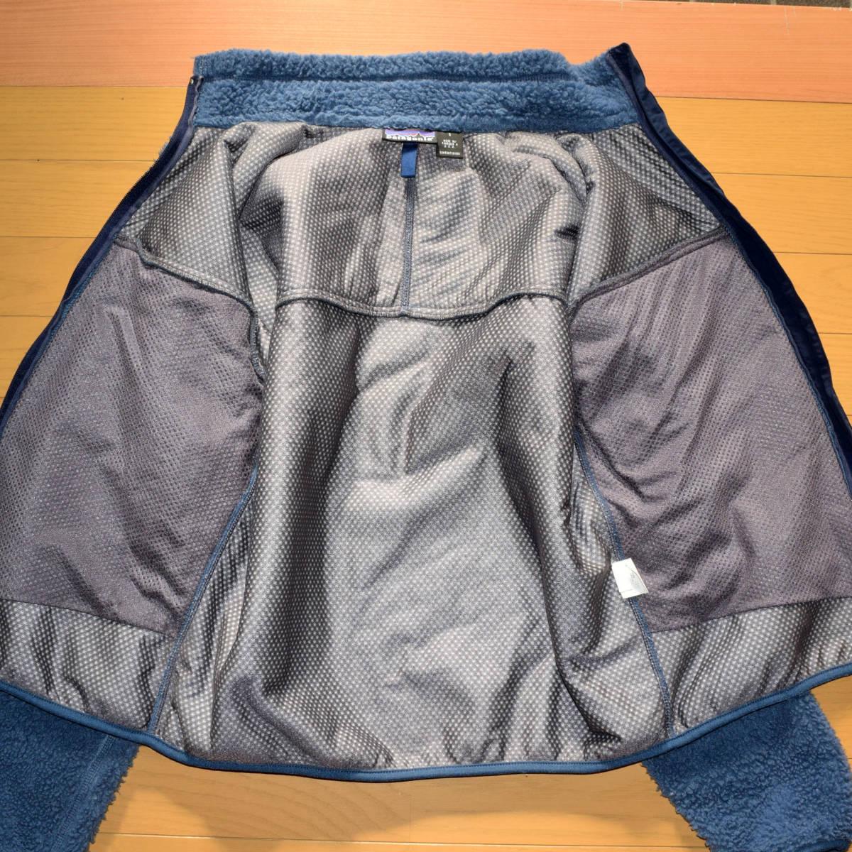 レア!送料無料!99年 USA製 パタゴニア メンズS 日本M フリース ボアパイル レトロX ジャケット レトロカーディガン 古着 ビンテージ_画像6
