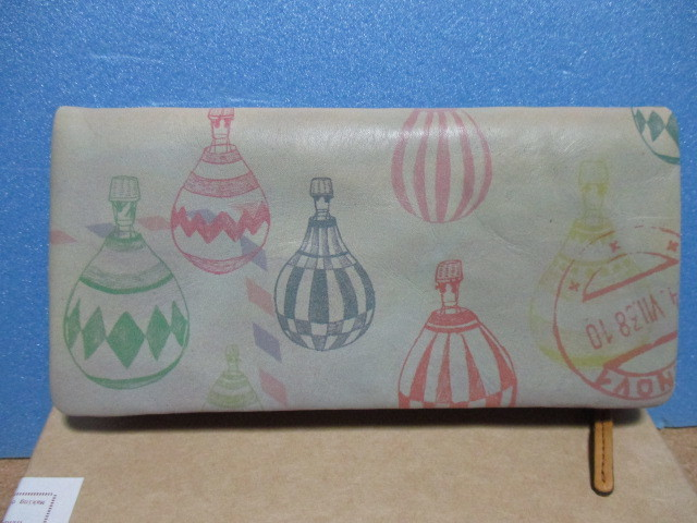 HIRAMEKI ヒラメキ 長財布 バルーン 気球 未使用品 送料込 送料無料_画像2