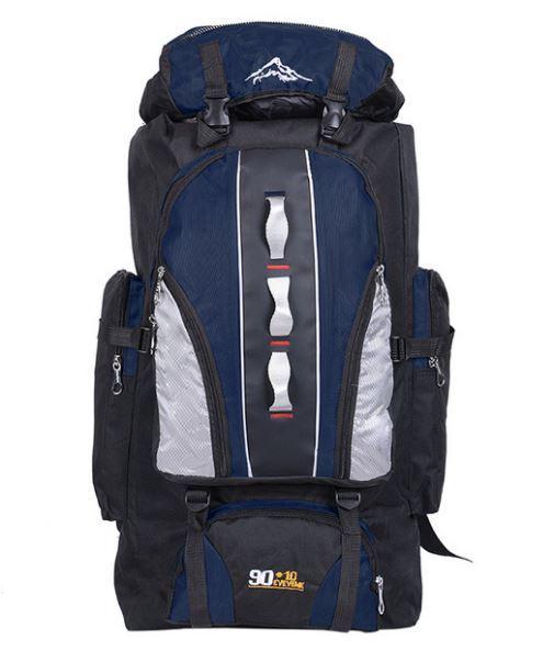 【100L】 大容量アウトドアスポーツバックパック 旅行バッグ ハイキング キャンプ クライミング 防水バックパック A049_画像5
