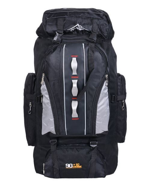 【100L】 大容量アウトドアスポーツバックパック 旅行バッグ ハイキング キャンプ クライミング 防水バックパック A049_画像2