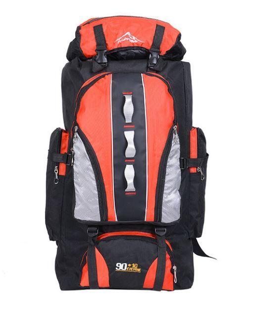 【100L】 大容量アウトドアスポーツバックパック 旅行バッグ ハイキング キャンプ クライミング 防水バックパック A049_画像4