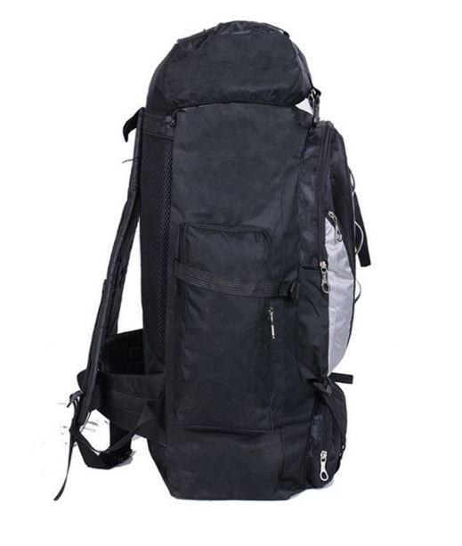 【100L】 大容量アウトドアスポーツバックパック 旅行バッグ ハイキング キャンプ クライミング 防水バックパック A049_画像6