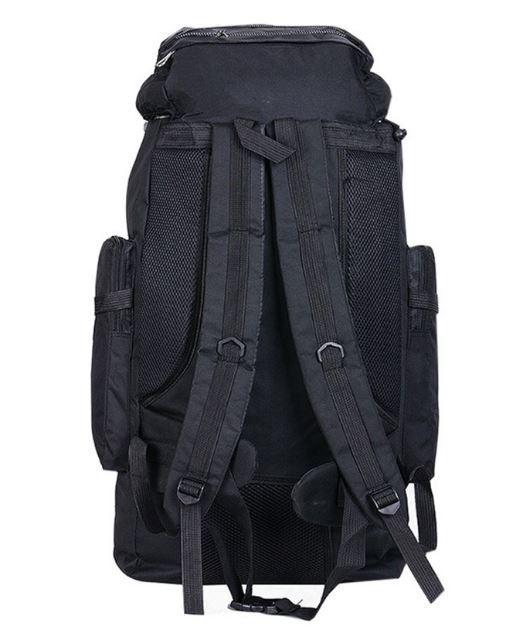 【100L】 大容量アウトドアスポーツバックパック 旅行バッグ ハイキング キャンプ クライミング 防水バックパック A049_画像7