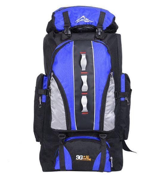 【100L】 大容量アウトドアスポーツバックパック 旅行バッグ ハイキング キャンプ クライミング 防水バックパック A049_画像1