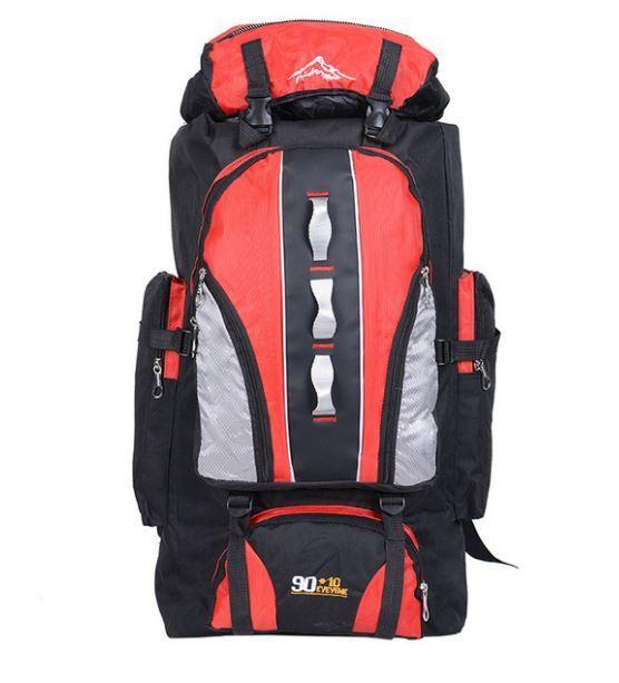 【100L】 大容量アウトドアスポーツバックパック 旅行バッグ ハイキング キャンプ クライミング 防水バックパック A049_画像3