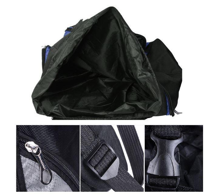 【100L】 大容量アウトドアスポーツバックパック 旅行バッグ ハイキング キャンプ クライミング 防水バックパック A049_画像9