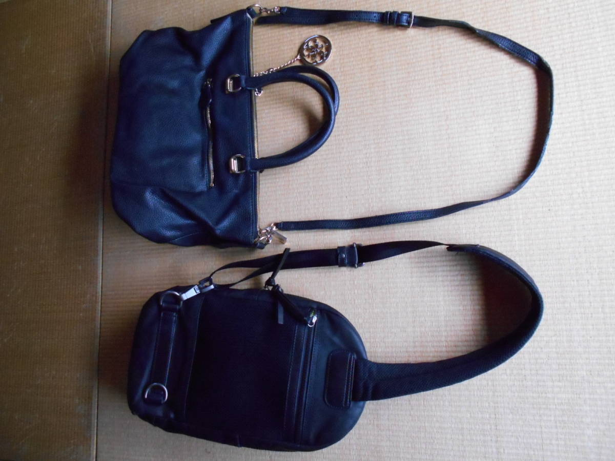 diesel one shoulder * Guess bag set.DIESEL*GUESS one part with defect cheap start inspection ) Porter Yoshida Play