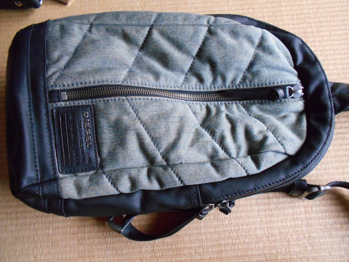diesel one shoulder * Guess bag set.DIESEL*GUESS one part with defect cheap start
