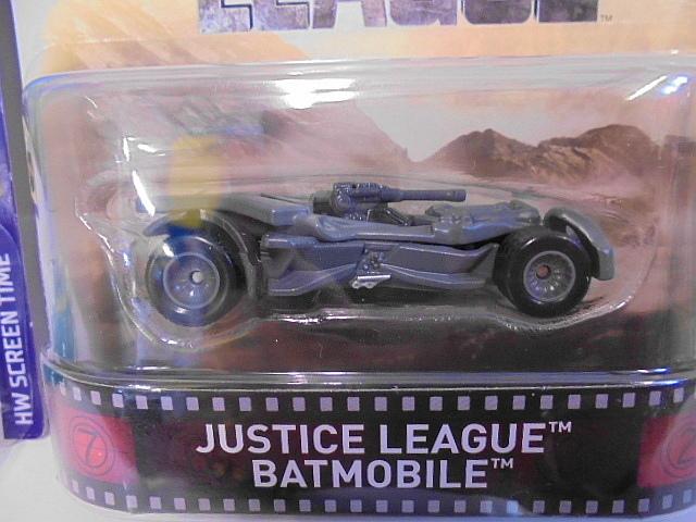バットマン バットモービル Hotwheels ホットウィール ミニカー 2台セット スクービードゥー ジャスティスリーグ アメコミ_画像2