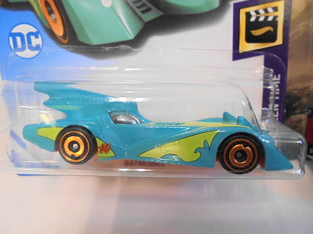 バットマン バットモービル Hotwheels ホットウィール ミニカー 2台セット スクービードゥー ジャスティスリーグ アメコミ_画像3