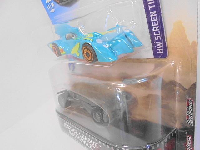 バットマン バットモービル Hotwheels ホットウィール ミニカー 2台セット スクービードゥー ジャスティスリーグ アメコミ_画像4