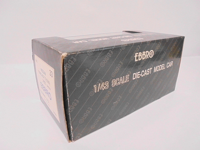 EBBRO ニッサン フェアレディZ S30 エブロ 1/43 ミニカー 旧車_画像8