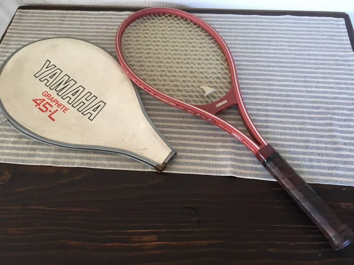 【中古品】 ★ YAMAHA/ヤマハ ★ 硬式テニスラケット GRAPHITE 45-L ケース有