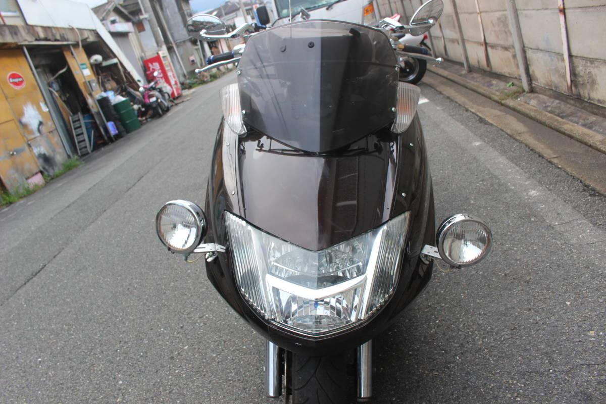 「大阪~ マグザム SG21J モデル ナビ付 エンジン始動OK 登録書類有り お引き取り、全国陸送、フェリー発送OK!!」の画像3