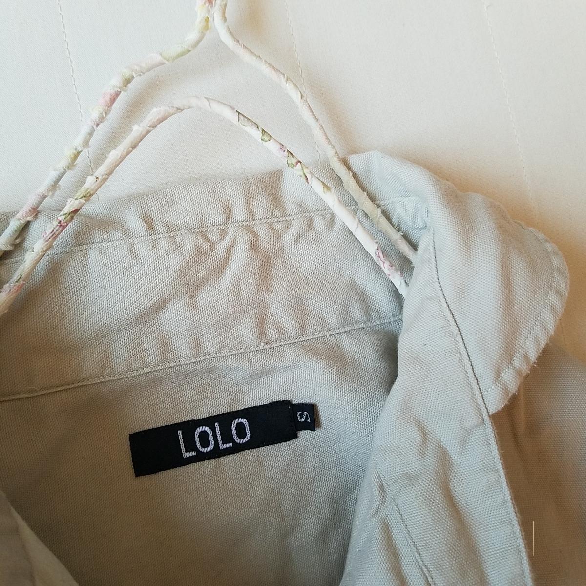 ::: ::: LOLO へちま襟 bigポケットプルオーバーシャツ ::: :::_画像7