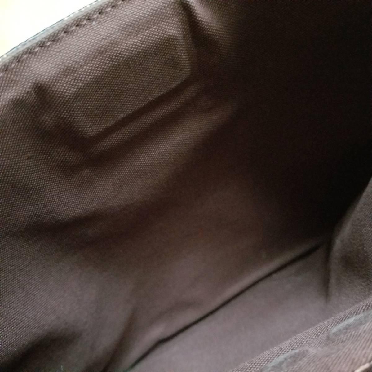 ルイヴィトン LOUIS VUITTON N41100 ダミエ ポシェット・プラット・ブルックリン ショルダーバッグ_画像4