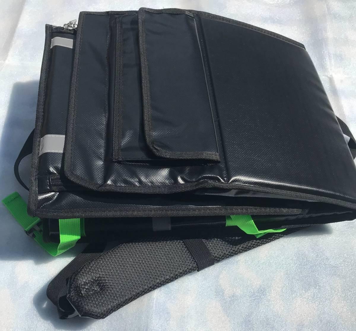 新登場【防水 軽量】ウーバーバッグ UBER EATS デリバリー ウーバーイーツ 保冷 保温 リュック バッグ バック 宅配 配達 フード UE light_折り畳み可!持ち運びで邪魔になりません。