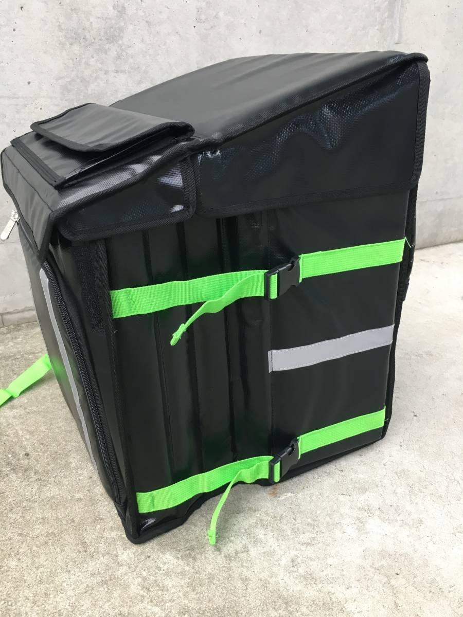 新登場【防水 軽量】ウーバーバッグ UBER EATS デリバリー ウーバーイーツ 保冷 保温 リュック バッグ バック 宅配 配達 フード UE light_サイドのベルトを伸ばして簡単に拡大