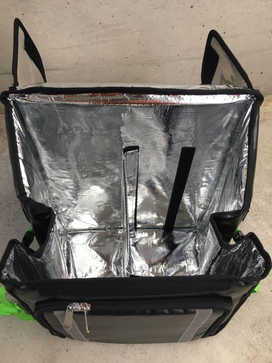 新登場【防水 軽量】ウーバーバッグ UBER EATS デリバリー ウーバーイーツ 保冷 保温 リュック バッグ バック 宅配 配達 フード UE light_付属の間仕切りで商品を安定させます。