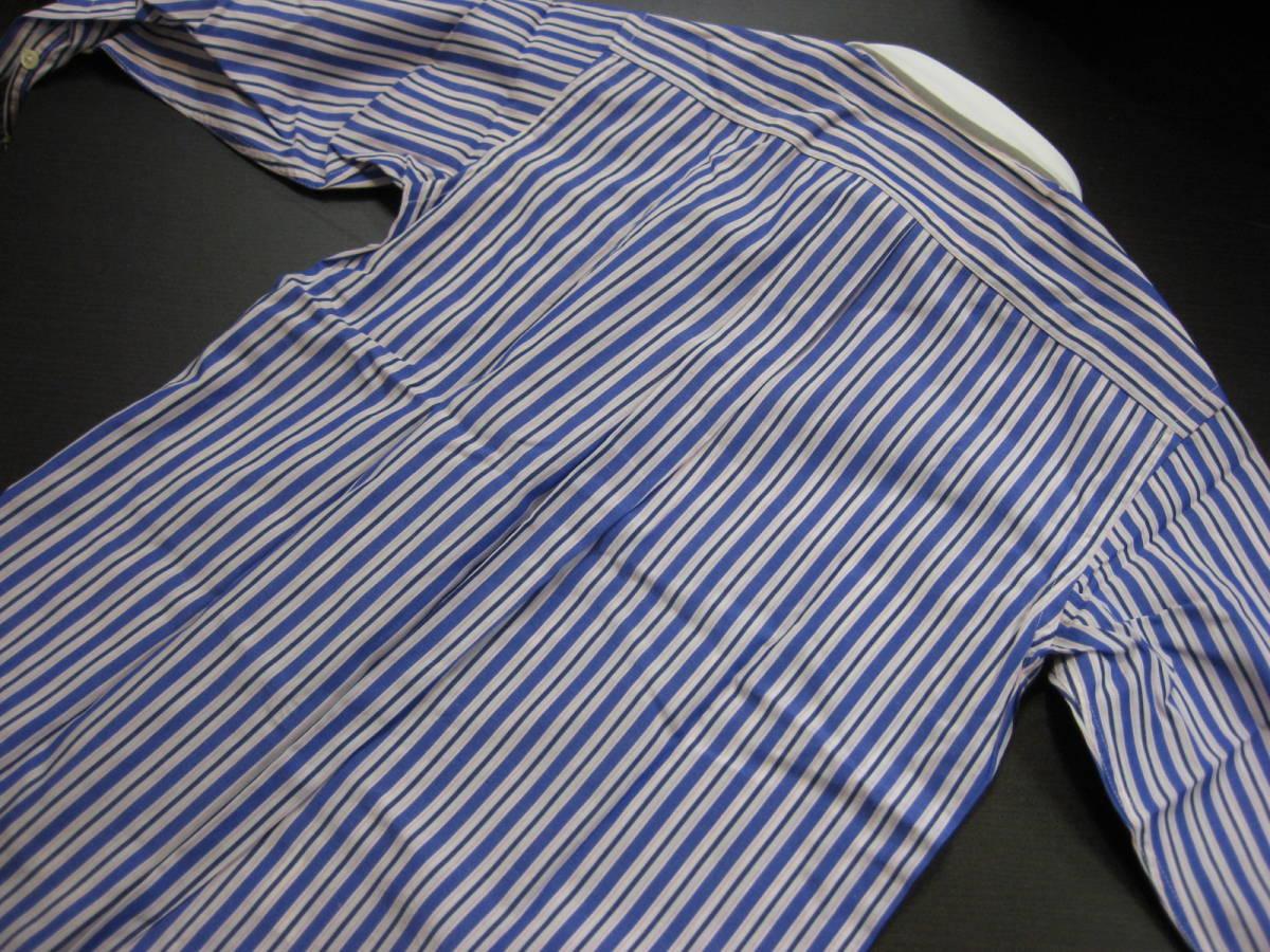 ■RalphlaurenラルフローレンPOLO■140cm男の子 ストライプデザイン長袖シャツ ㈱ナイガイ■送料無料_画像5