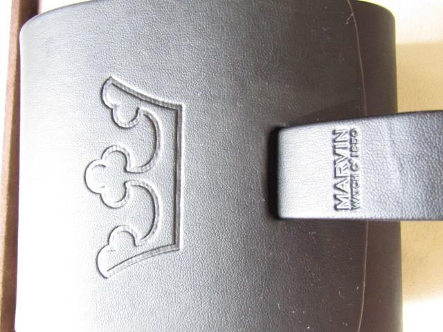 新品同様 マービン 自動巻 ビックラウンド 王冠マーク 1850 _画像10