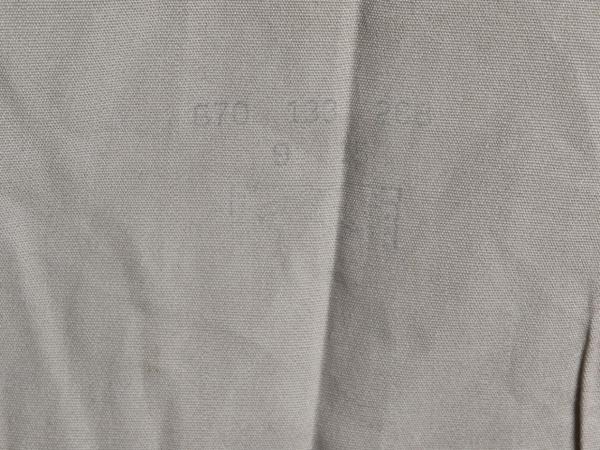 50's ビンテージ ★ Elbeco エルベコ マチ付き コットン ポプリン 長袖 ワーク シャツ ( メンズ 男性 M 程) 古着 ベージュ 無地 50年代_画像7