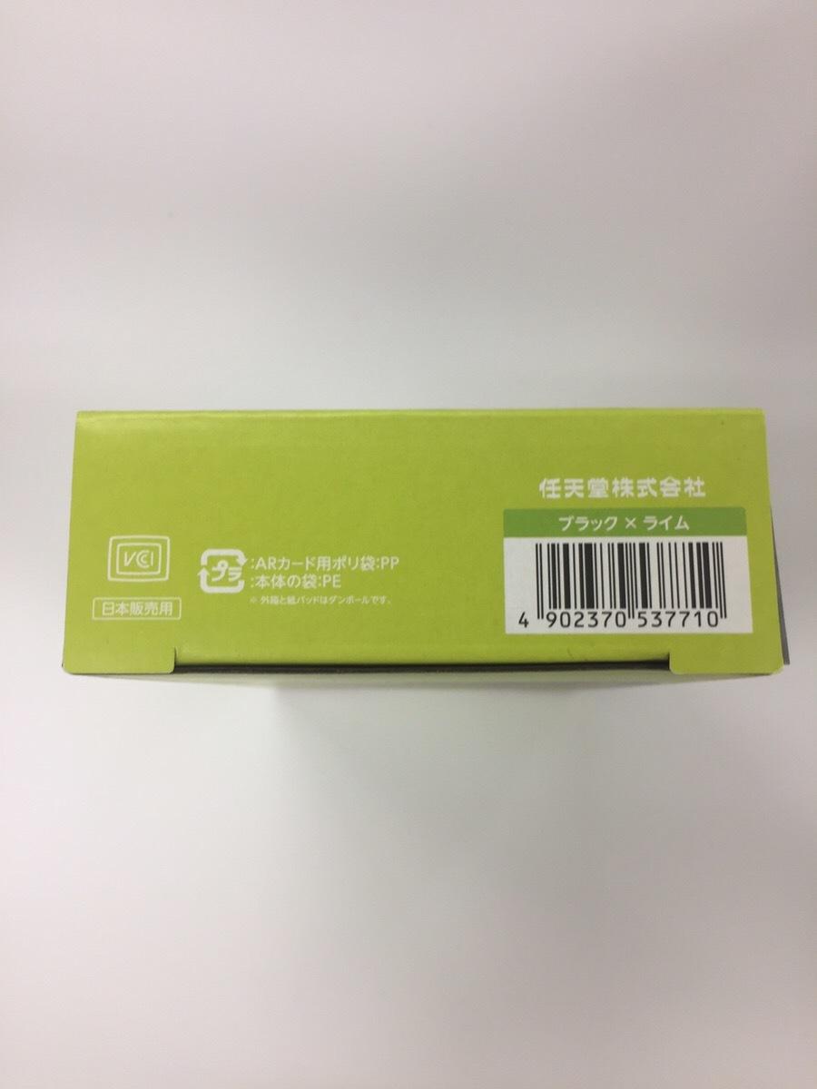 【送料無料】Newニンテンドー2DS LL 【ブラック×ライム】【保護フィルム・タッチペンのお得なおまけ付き】_画像3