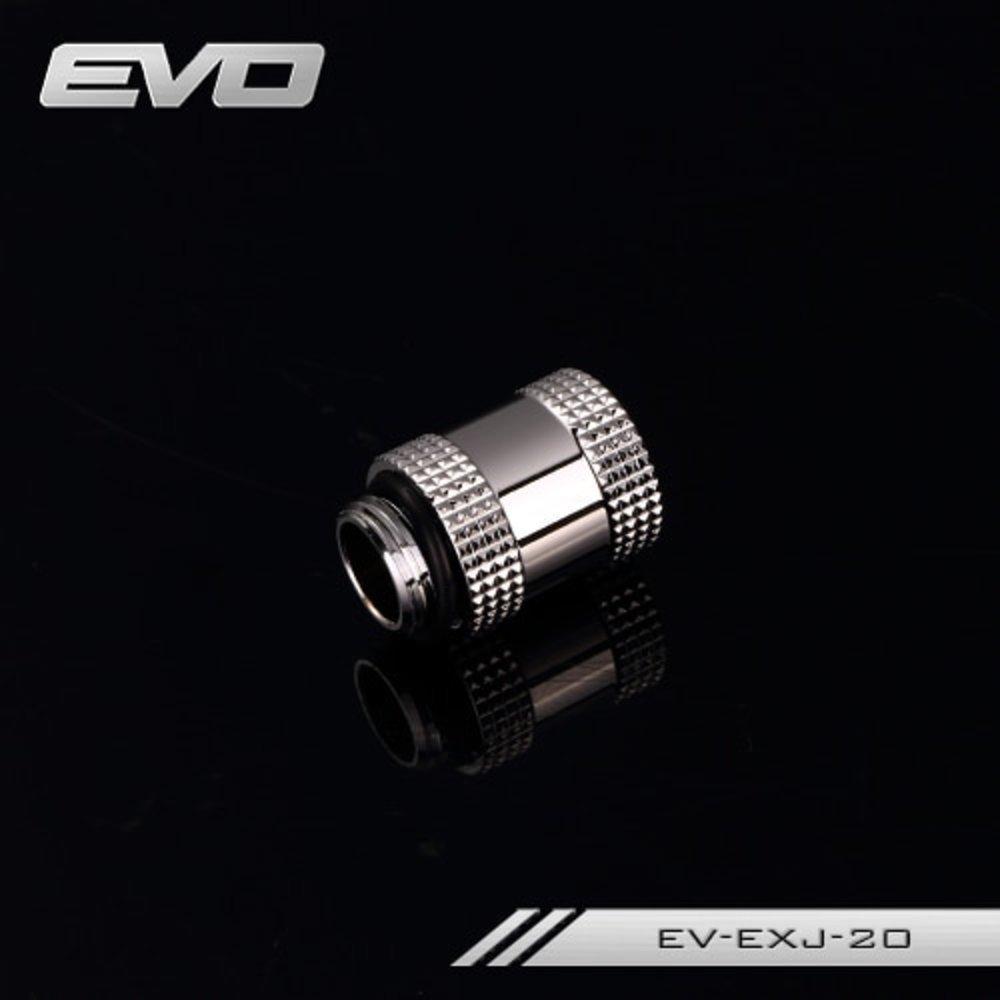 送料無料 Bykski EVO 10mm 15mm 20mm 30mm 40mm Male to Female Extender Fitting with G1/4'' Threads. P_画像2