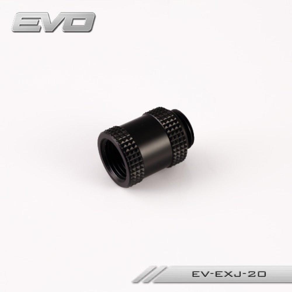 送料無料 Bykski EVO 10mm 15mm 20mm 30mm 40mm Male to Female Extender Fitting with G1/4'' Threads. P_画像6