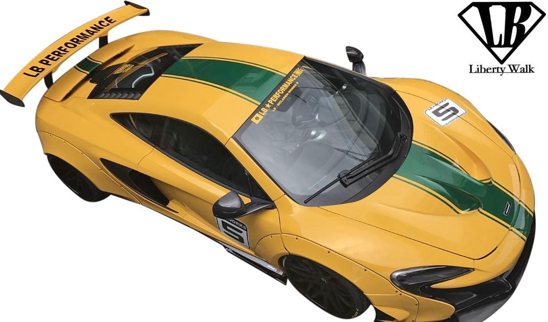 【M's】マクラーレン 650S (2014y-2018y) Liberty Walk LB-WORKS カーボン コンプリートボディキット 6点//CFRP+FRP リバティーウォーク_画像3