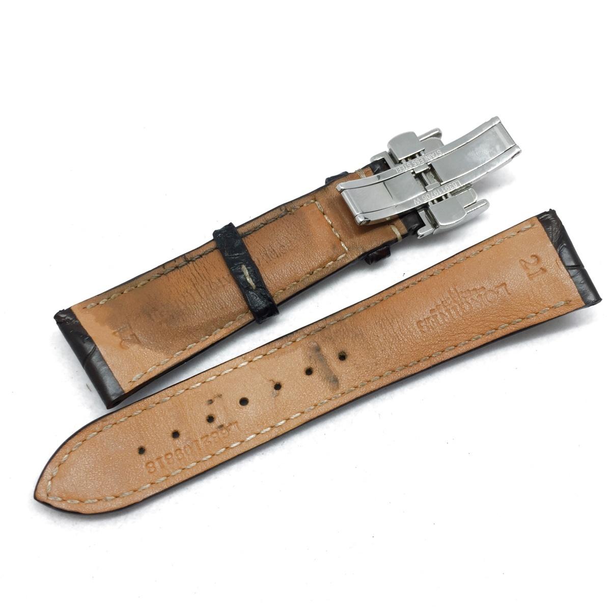 9-3525 【美品・新品社外ベルト】 ロンジン 腕時計 マスターコレクション L2.793.4.78.3 自動巻き デイト メンズ 純正革ベルト付属_画像8