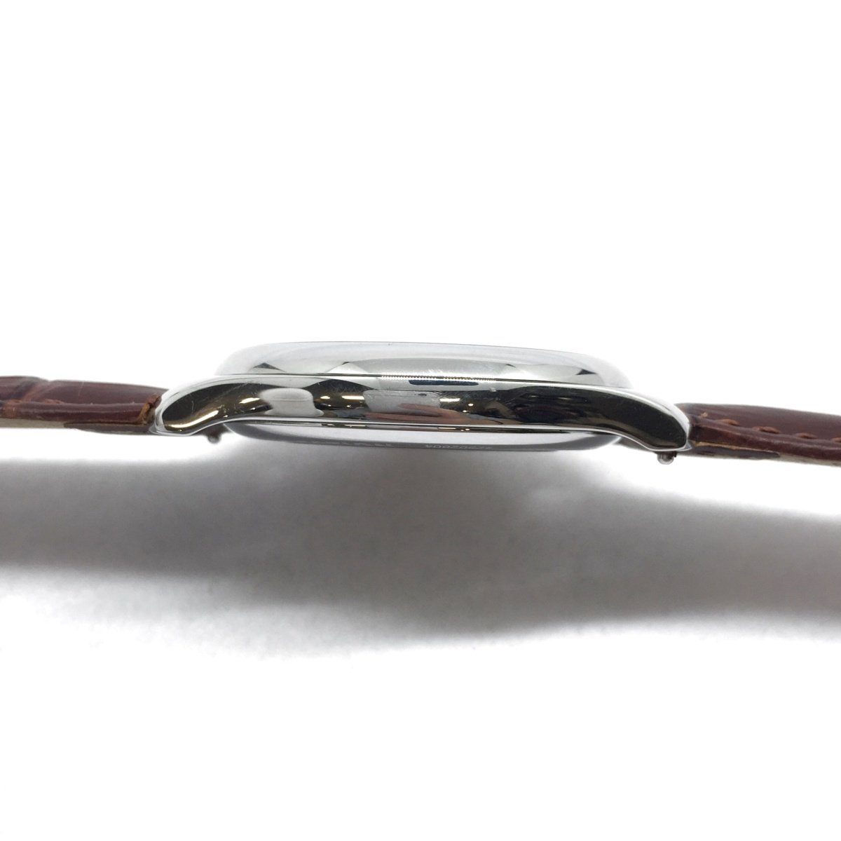9-3525 【美品・新品社外ベルト】 ロンジン 腕時計 マスターコレクション L2.793.4.78.3 自動巻き デイト メンズ 純正革ベルト付属_画像5