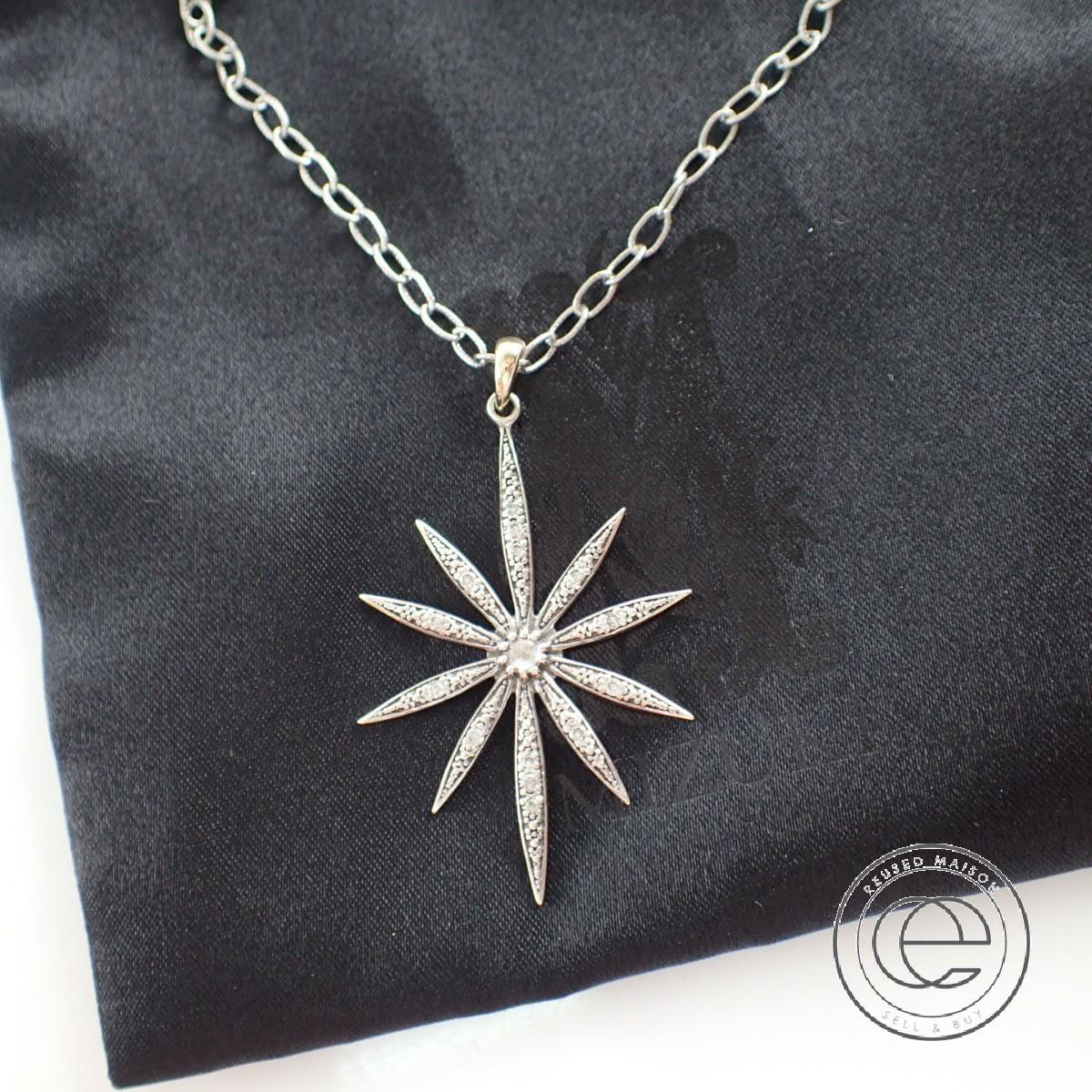 即決◆MIZUKIミズキ K14&925 ダイヤモンド Icicle Flower アイシクルフラワーネックレス シルバー/イエローゴールド レディース